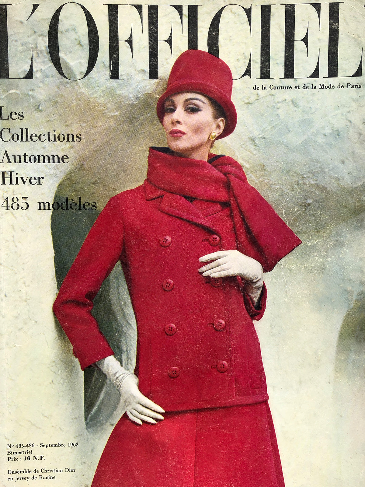Archived - L'Officiel Paris September 1962