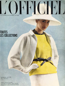 Archived - L'Officiel Paris April 1963