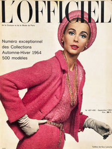 Archived - L'Officiel Paris September 1963
