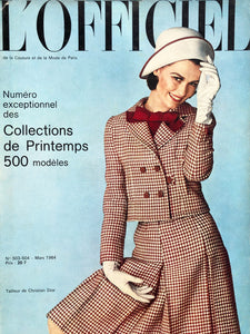 Archived - L'Officiel Paris March 1964