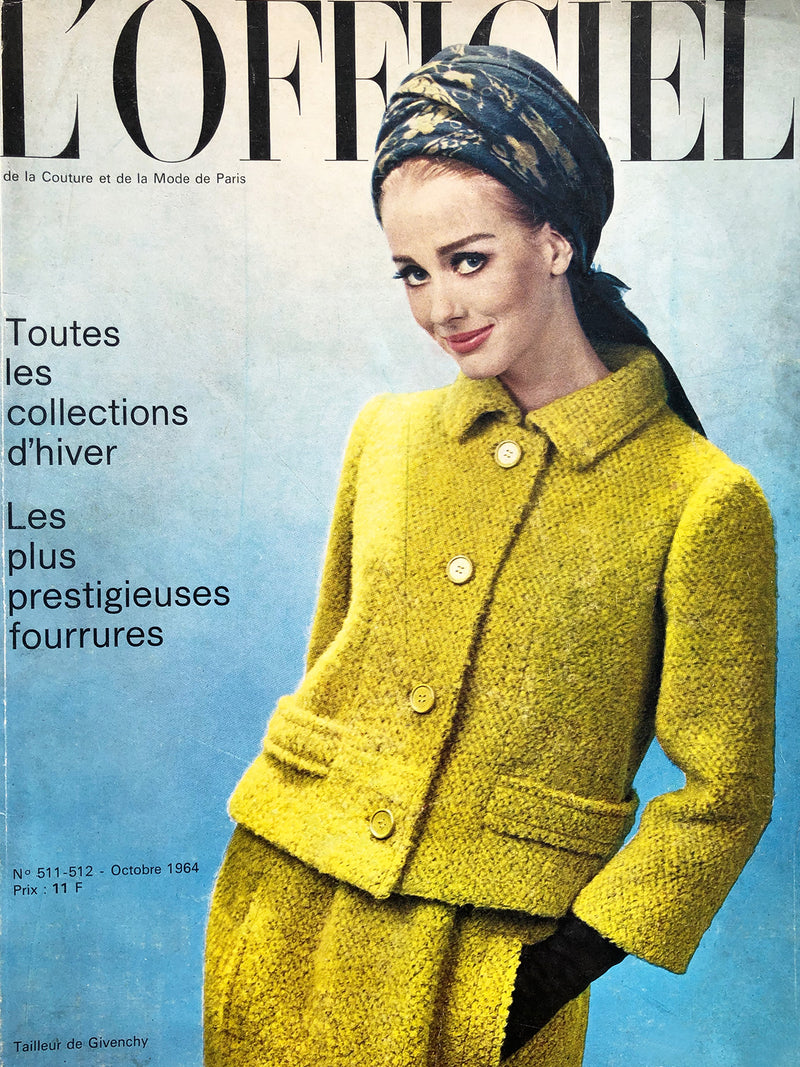 Sold - L'Officiel Paris October 1964