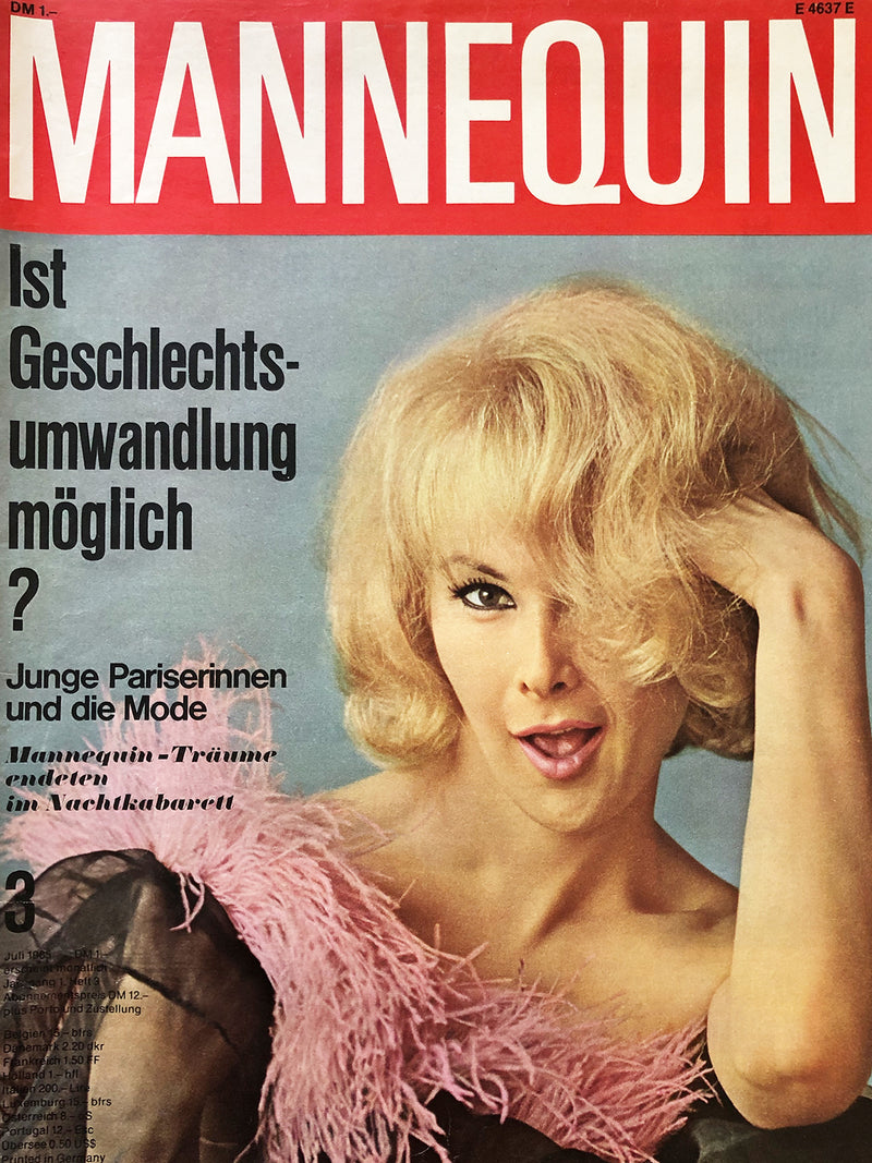 Archived - MANNEQUIN Germany July 1965