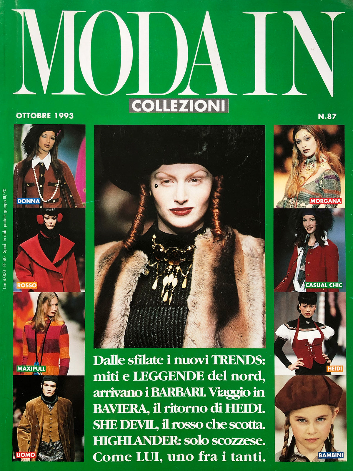 Archived - MODA IN Collezioni N. 87 October 1993