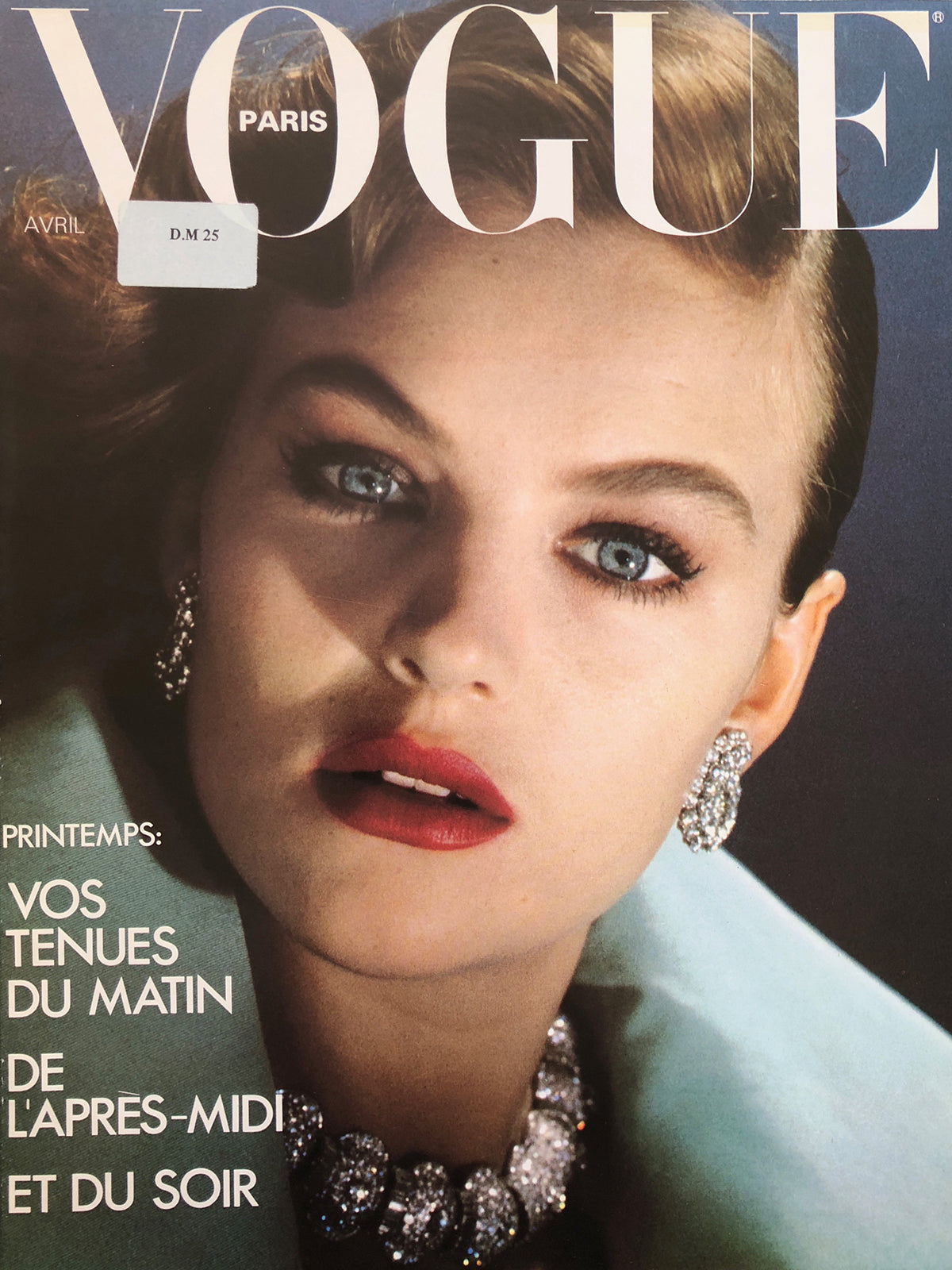 VOGUE Paris April 1980