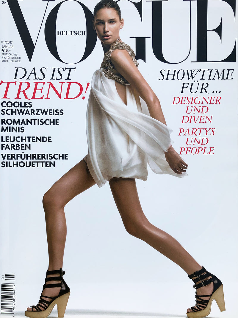 Archived - VOGUE Germany January 2007