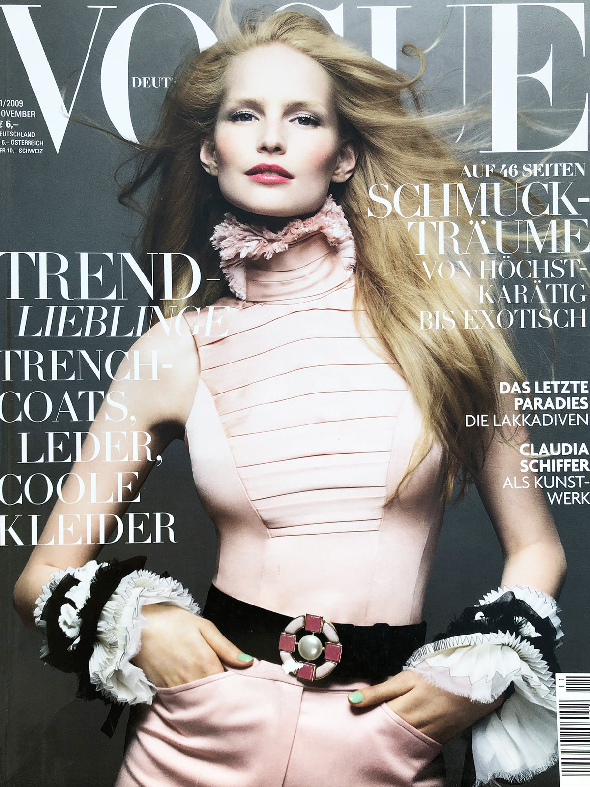 Archived - VOGUE Germany November 2009