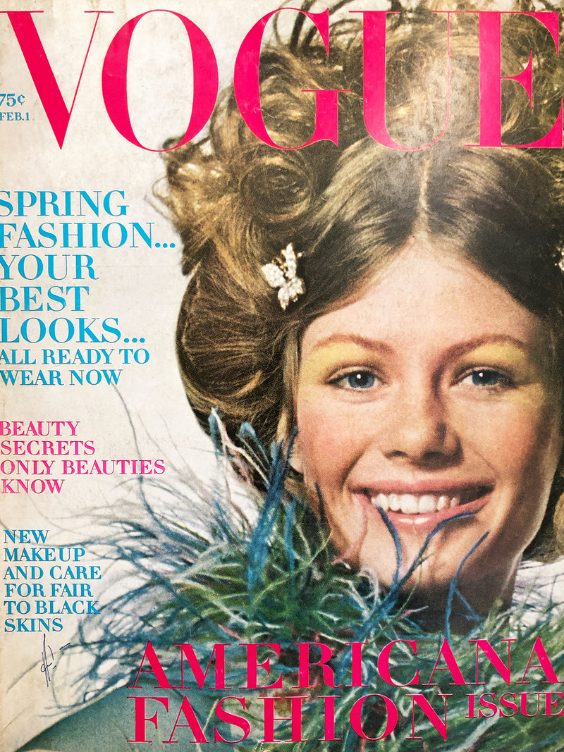 Archived - Vogue US February 1st 1970
