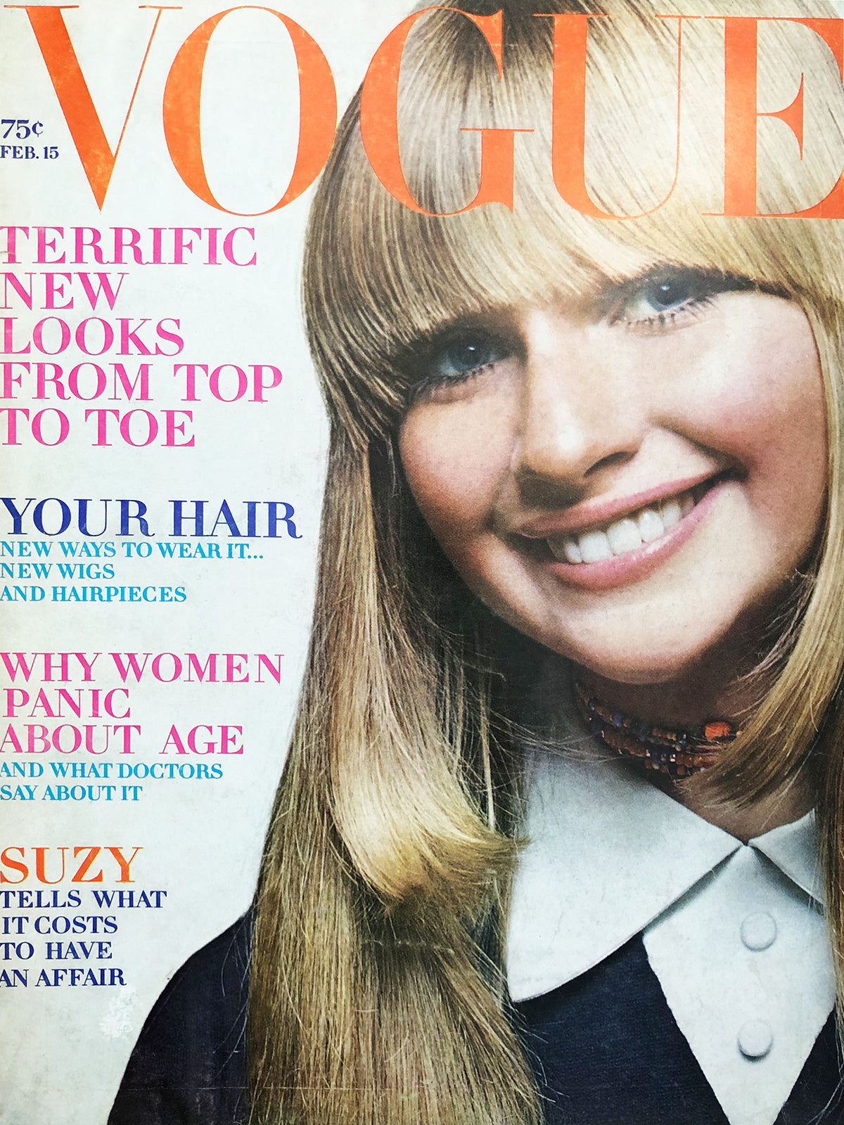 Archived - Vogue US February 15th 1970