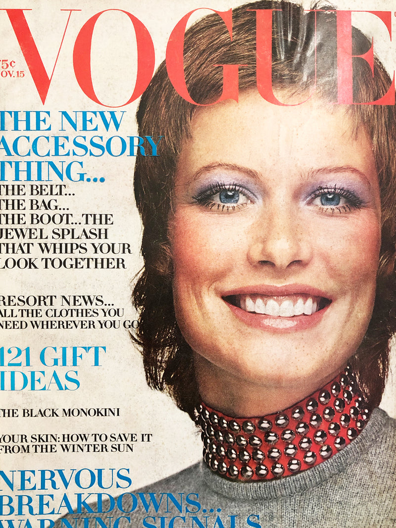 Archived - Vogue US November 15th 1970