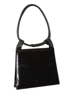 YVES SAINT LAURENT Rare Vintage Leather Handbag
