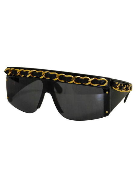 CHANEL A/W 1992/93 Vintage Chain Sunglasses