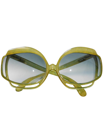Sold - CHRISTIAN DIOR Mod. 2026-60 1970s Vintage Oversized Sunglasses
