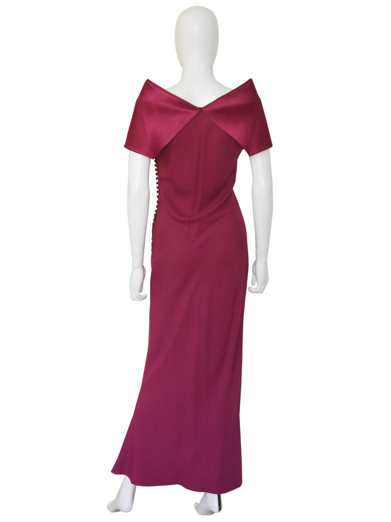 Sold - CHRISTIAN DIOR by John Galliano Fall 1999 Evening Dress Size L-XL