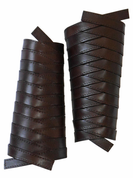 CHRISTIAN DIOR 2000s Vintage Leather Gladiator Cuffs