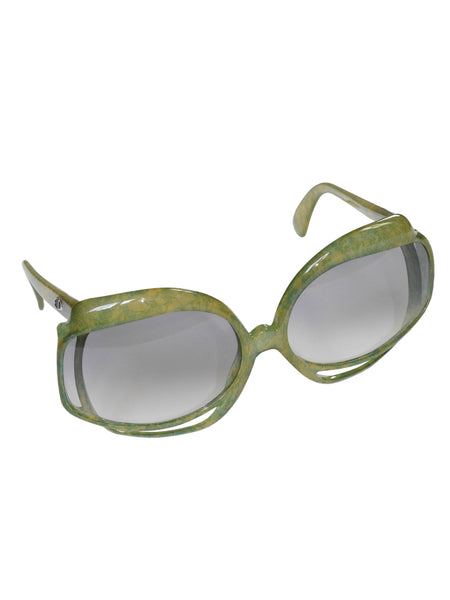Sold - CHRISTIAN DIOR Mod. 2026-50 1970s Vintage Oversized Sunglasses