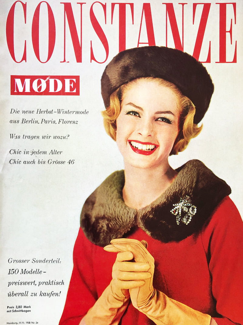 Archived - CONSTANZE Mode Fall/Winter 1958/59