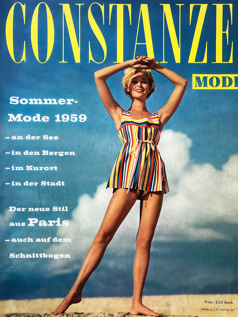 Archived - CONSTANZE Mode Summer 1959