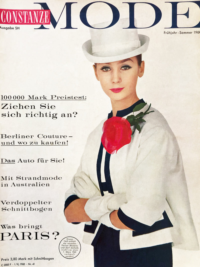 Archived - CONSTANZE Mode Spring/Summer 1960