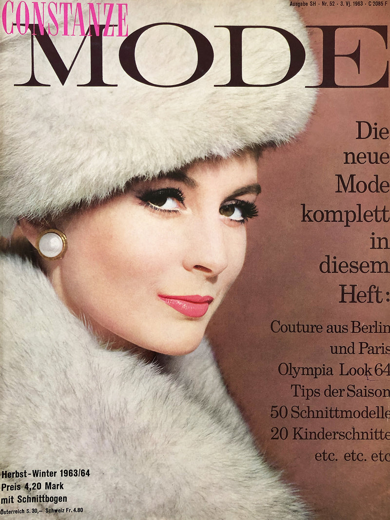 Archived - CONSTANZE Mode Fall/Winter 1963/64