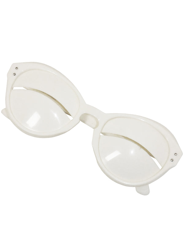 Sold - COURRÈGES Vintage 1965 Space Age Eskimo Sunglasses
