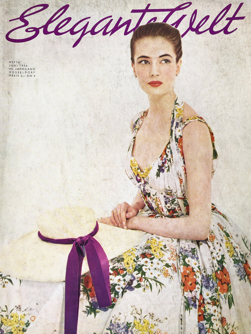 Elegante Welt Germany June 1956