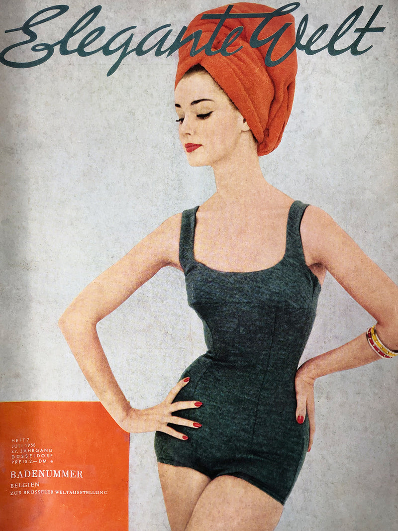 Archived - Elegante Welt Germany July 1958