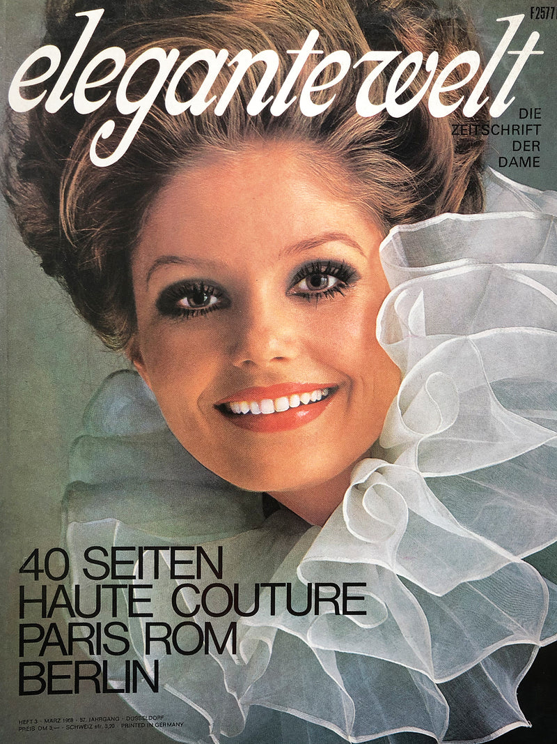 Archived - Elegante Welt Germany March 1968