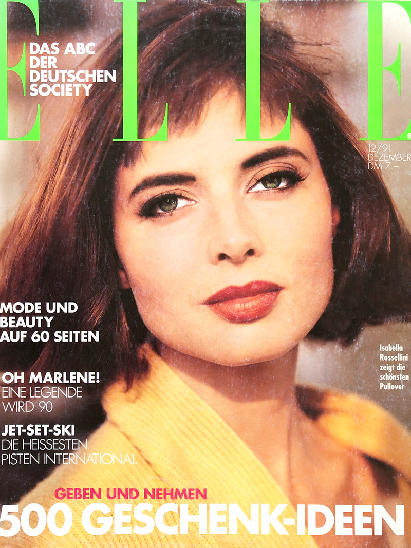 Archived - ELLE Germany December 1991