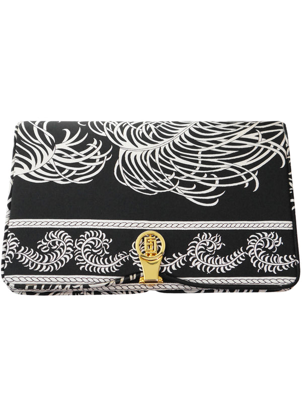 Sold - EMILIO PUCCI 1960s Vintage Silk Clutch Evening Bag
