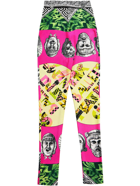 Sold - GIANNI VERSACE Couture Spring 1991 Balletto Teatro Leggings S-M