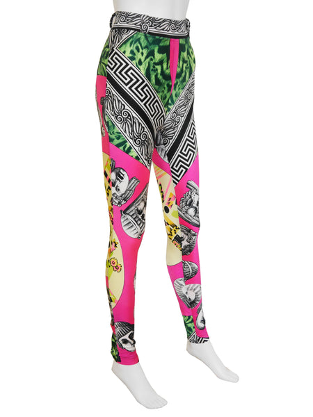 Sold - GIANNI VERSACE Couture S/S 1991 Balletto Teatro Leggings S-M