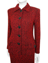 Sold - GIANNI VERSACE Couture Fall 1995 Bouclé Skirt Suit Size XS-S