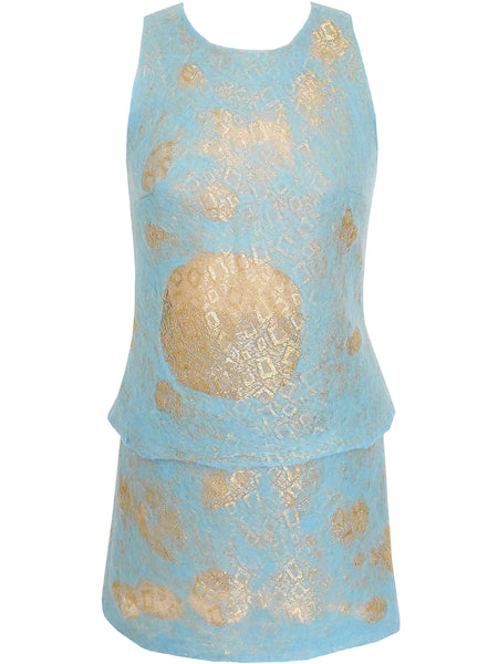 Sold - GIANNI VERSACE Spring 1999 Top & Skirt as Modeled by Kate Moss Size XS