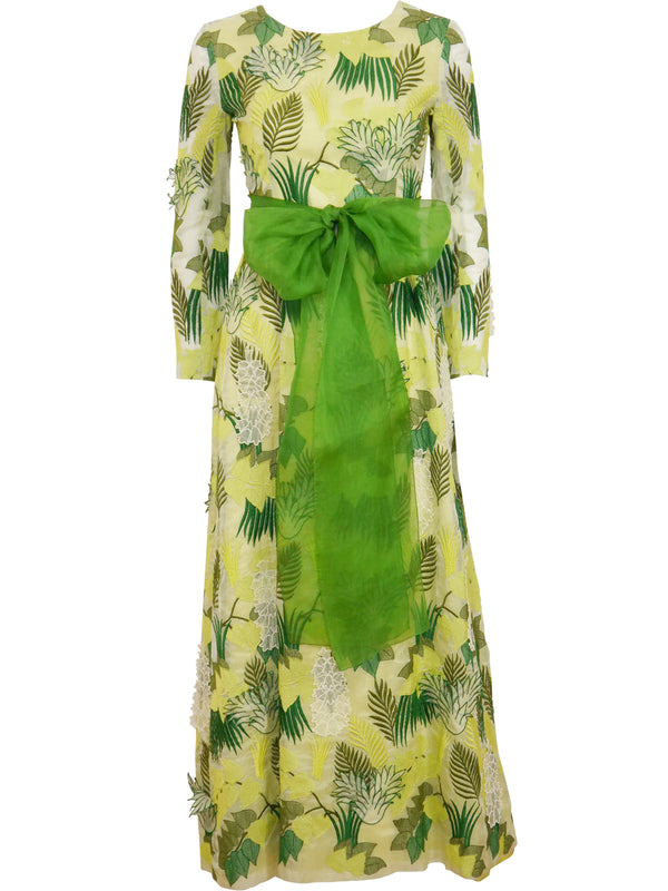 Sold - GIVENCHY 1960s Vintage Couture Evening Dress Size XXS-XS