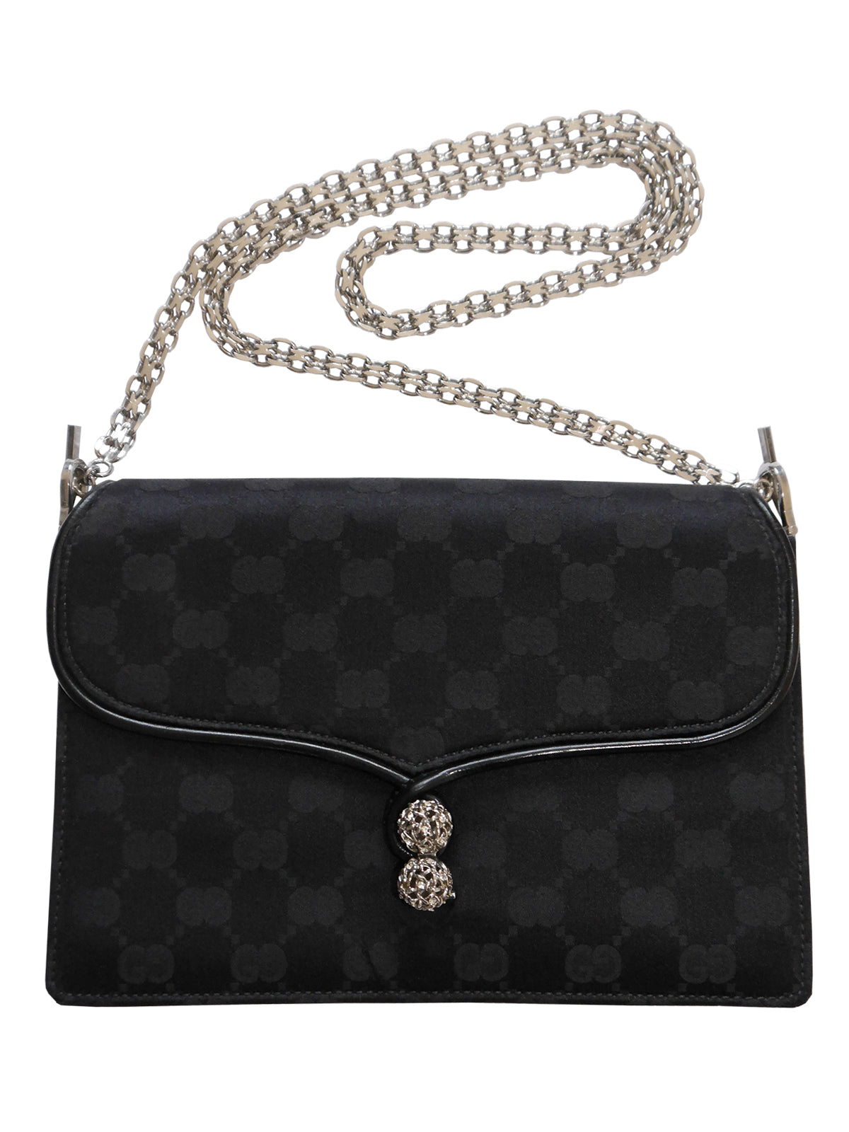 Sold - GUCCI Rare Vintage Monogram Evening Shoulder Bag Clutch