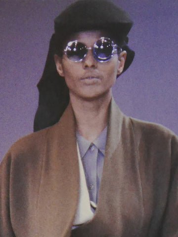 ISSEY MIYAKE F/W 1989 Vintage Round Double-Layered Sunglasses