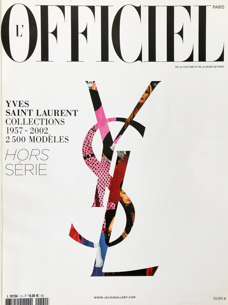 Archived - L'Officiel Paris Hors Série Yves Saint Laurent