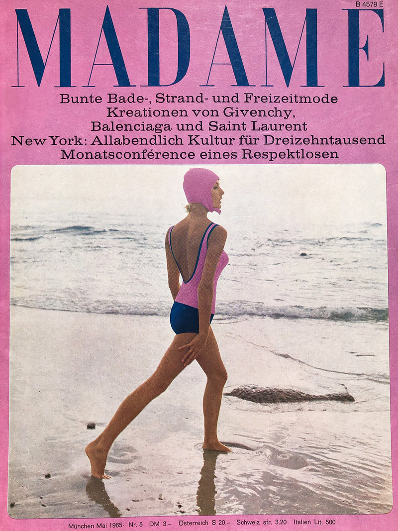Archived - Madame Germany May 1965