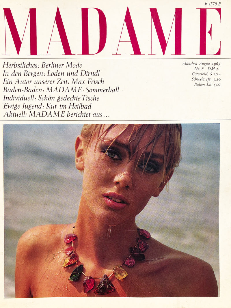 Archived - Madame Germany August 1965