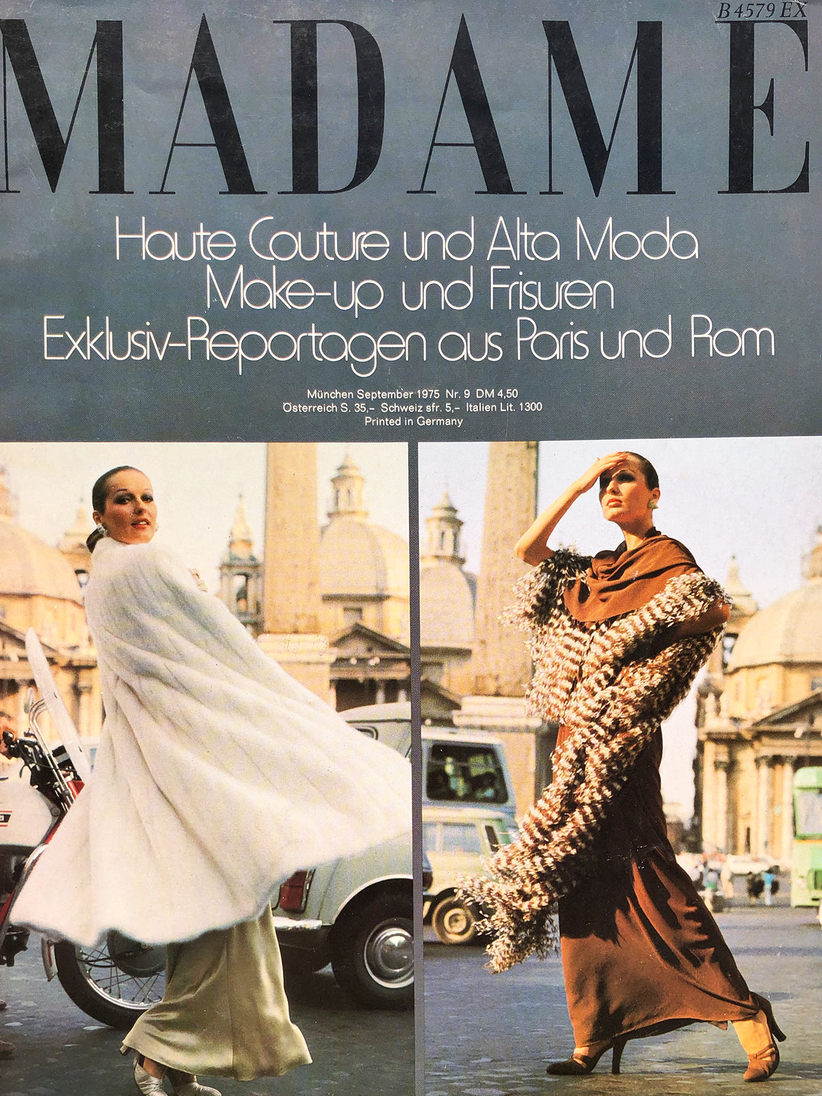 Archived - Madame Germany September 1975
