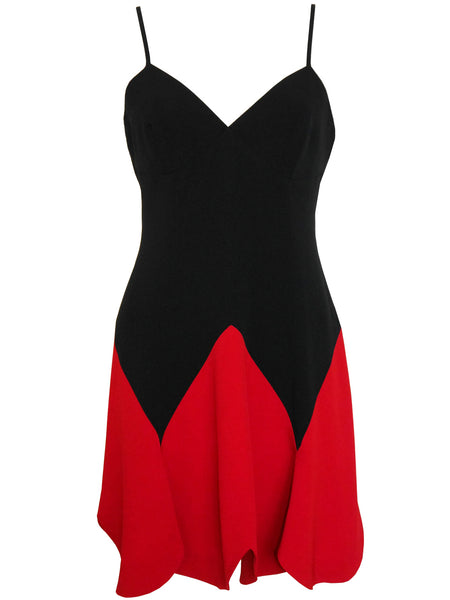 "MOSCHINO 1990s Vintage ""Heart"" Mini Dress Size S"