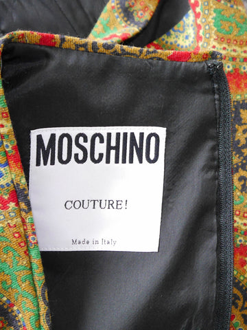 MOSCHINO Couture! Vintage Lace Up Bustier Top Size XS