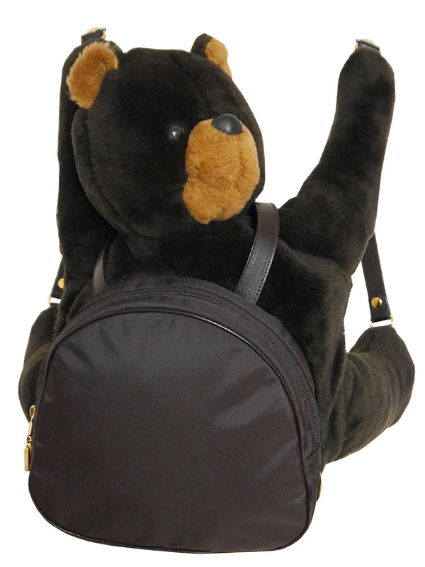 Sold - MOSCHINO by Redwall Vintage Collectible Teddy Bear Backpack