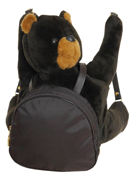 MOSCHINO Redwall Vintage Collectible Teddy Bear Backpack