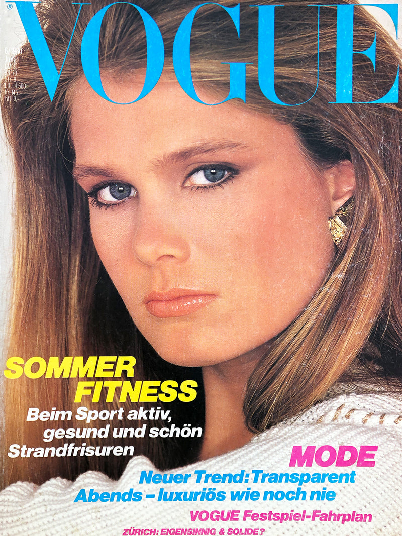 Archived - VOGUE Germany June 1980