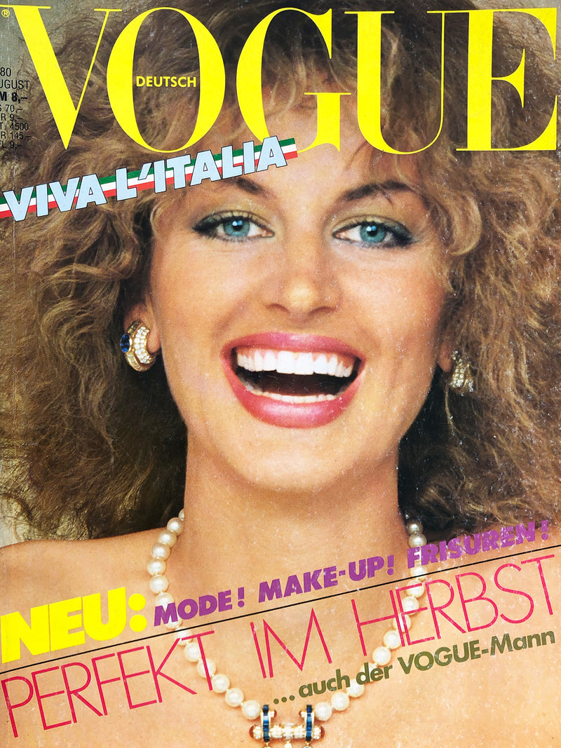 Archived - VOGUE Germany August 1980