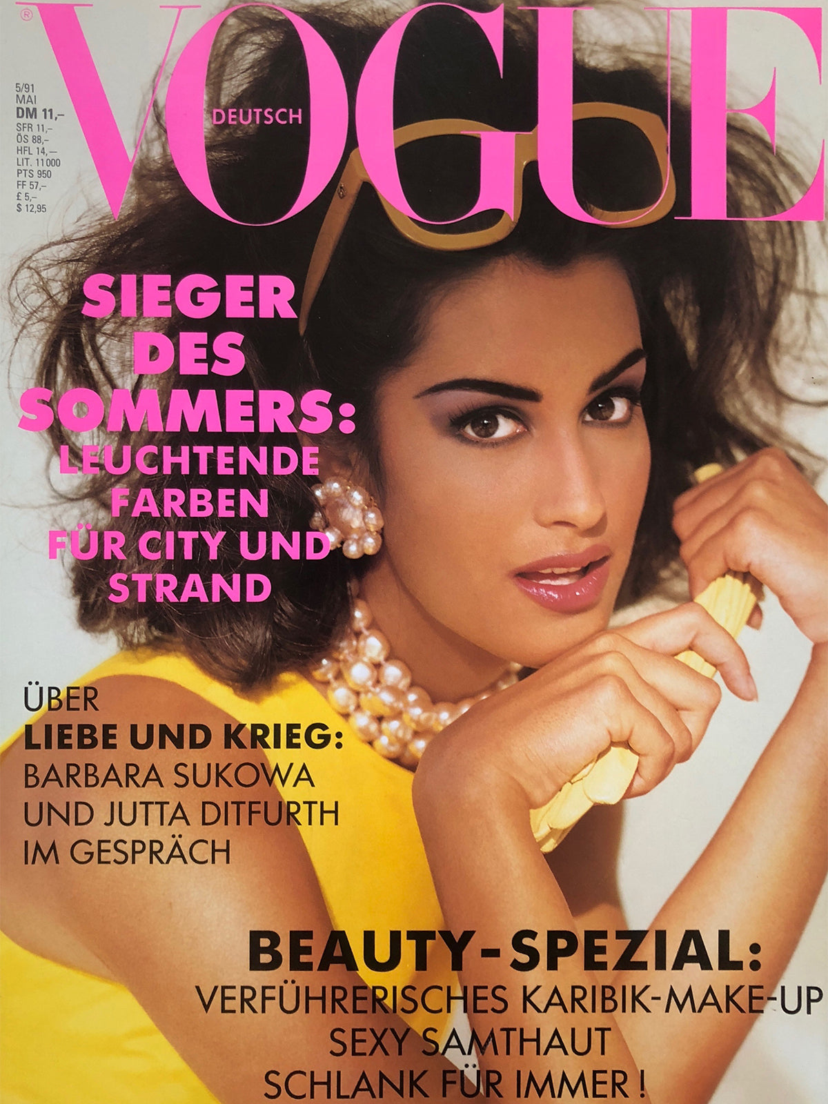 Archived - VOGUE Germany May 1991