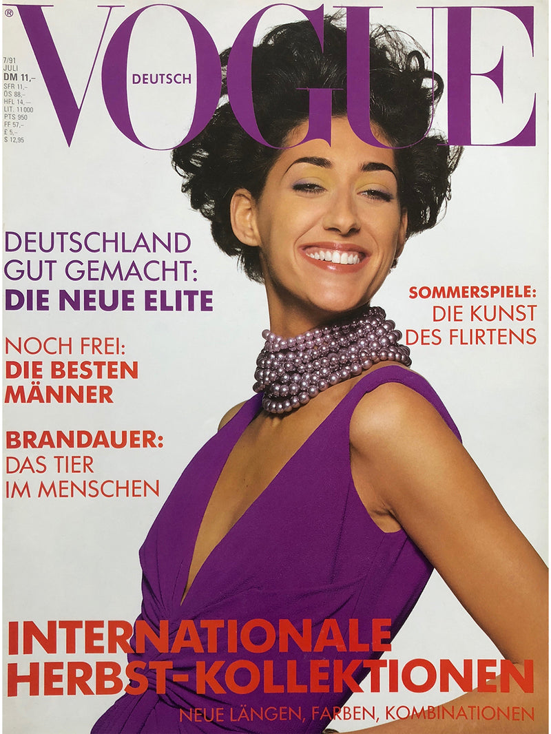 Archived - VOGUE Germany July 1991