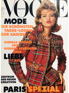 Archived - VOGUE Germany September 1991