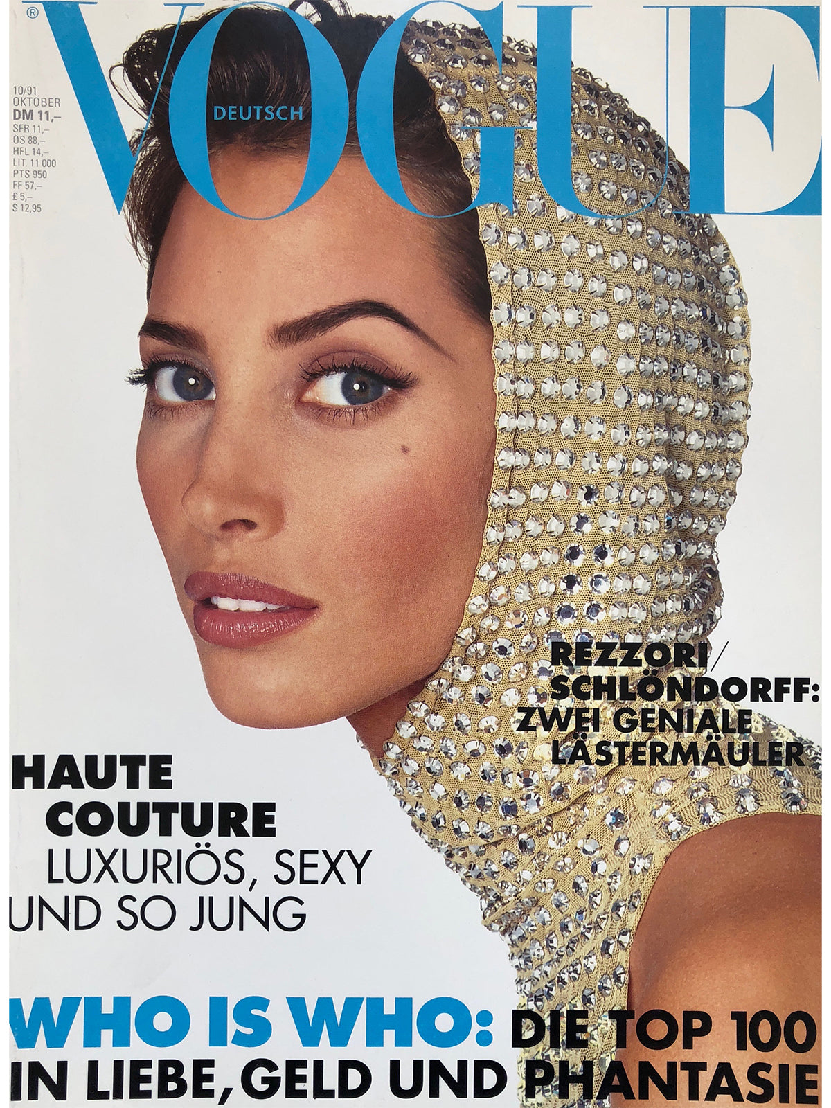 Archived - VOGUE Germany October 1991